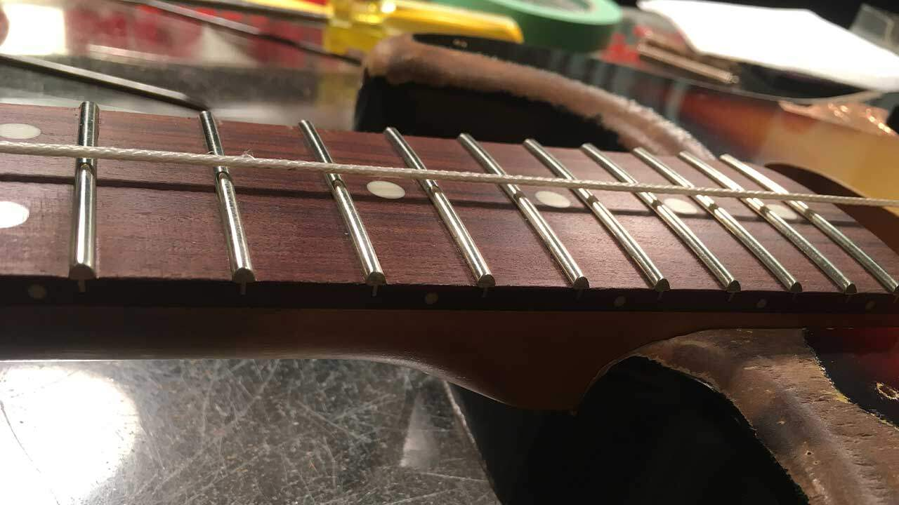SRV Custom Build Rough Check String Height