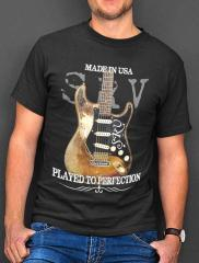 Stevie Ray Vaughan Number One Strat Played to Perfection T-shirt