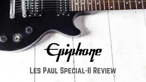 Epiphone Les Paul SPECIAL-II Electric Guitar Review