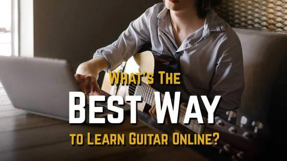 What Is The Best Way to Learn Guitar Online?