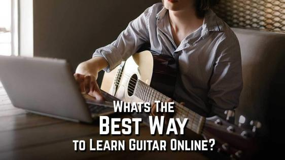 What's The Best Way to Learn Guitar Online?