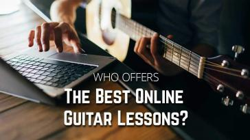 Who Offers The Best Online Guitar Lessons?