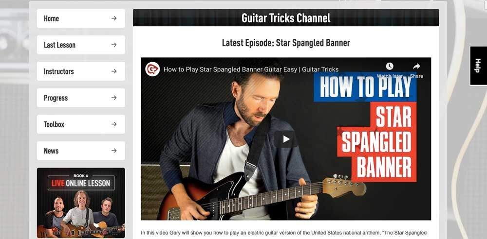 Guitar Tricks Review - Channel
