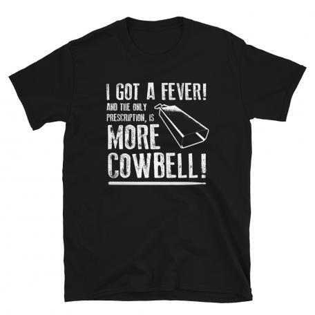 More Cowbell T-shirt-black