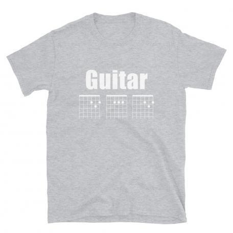 Guitar DAD Chord Unisex T-Shirt-sport grey