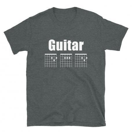 Guitar DAD Chord Unisex T-Shirt-dark heather