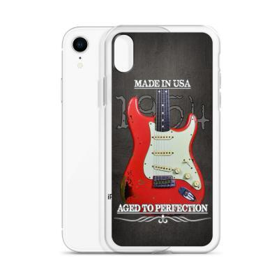 Vintage Aged 1954 Fender Stratocaster iPhone Case