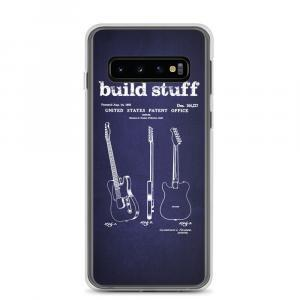 Build Stuff Fender Guitar Patent Samsung Phone Case