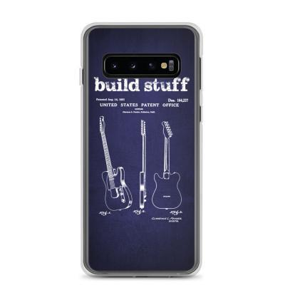 Build Stuff Fender Guitar Patent Samsung Phone Case