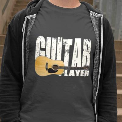 Acoustic Guitar Player Unisex T-shirt