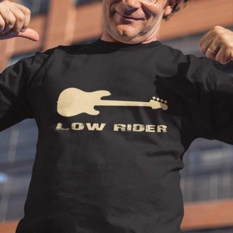 Low Rider Bass Guitar T-Shirt