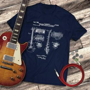 Gibson Les Paul Patent Guitar T-shirt
