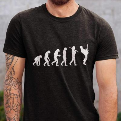 Guitar Player Evolution T-shirt