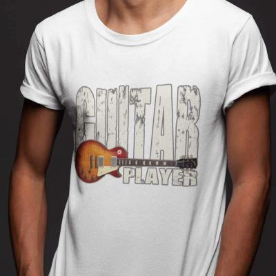 Les Paul Guitar Player Unisex T-shirt