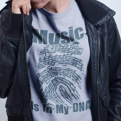 Music Is In My DNA Tshirt