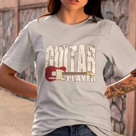 Telecaster Guitar Player Unisex T-shirt - grey