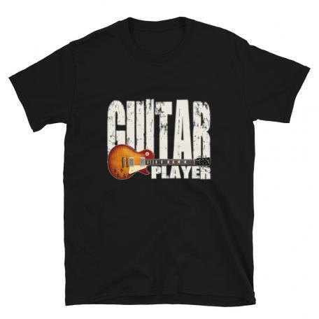 Les Paul Guitar Player Unisex T-black