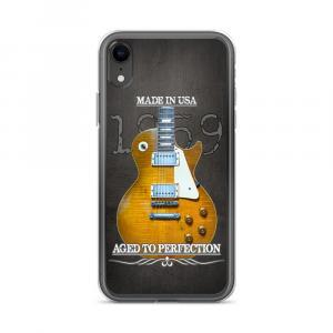 Vintage Original 1959 Les Paul Guitar iPhone Case