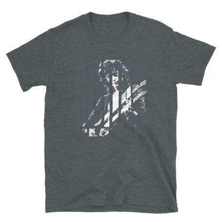 Jimmy Page Guitar Player Rock T-shirt-sport grey-dark heather