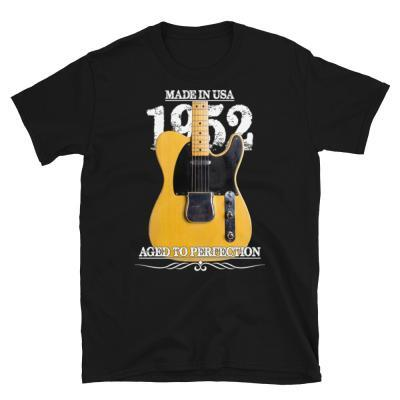 Classic 52 Telecaster Aged To Perfection T-shirt-black