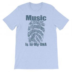 Music Is In My DNA Tshirt heather blue