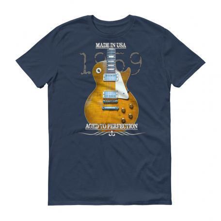 Original 1959 Les Paul Guitar T-Shirt - Lake