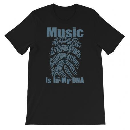 Music Is In My DNA Tshirt black