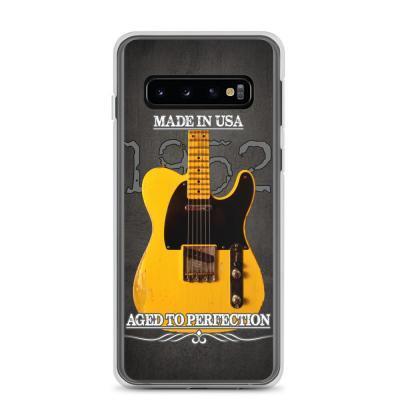 Vintage Aged 1952 Fender Telecaster Guitar Samsung Case