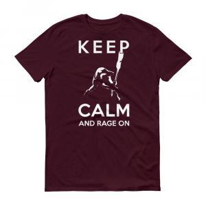 Smashing Bass Guitar Keep Calm T-Shirt