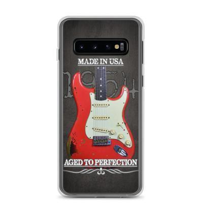 Vintage Aged 1954 Fender Stratocaster Samsung Phone Case