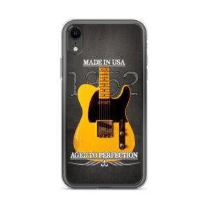 Vintage Aged 1952 Fender Telecaster Guitar iPhone Case