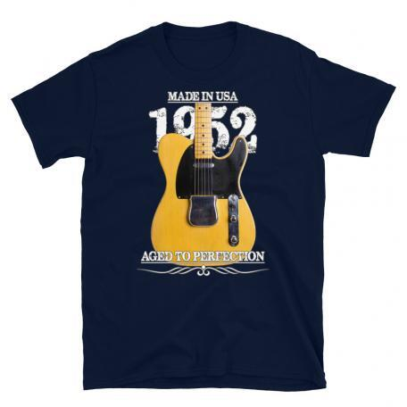 Classic 52 Telecaster Aged To Perfection T-shirt-navy