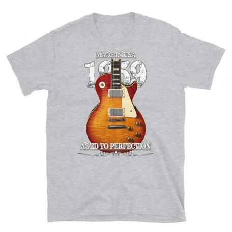 Classic 59 Les Paul Red Sunburst Aged To Perfection T-shirt-sport grey