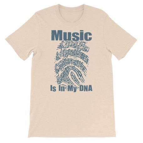 Music Is In My DNA Tshirt heather dust