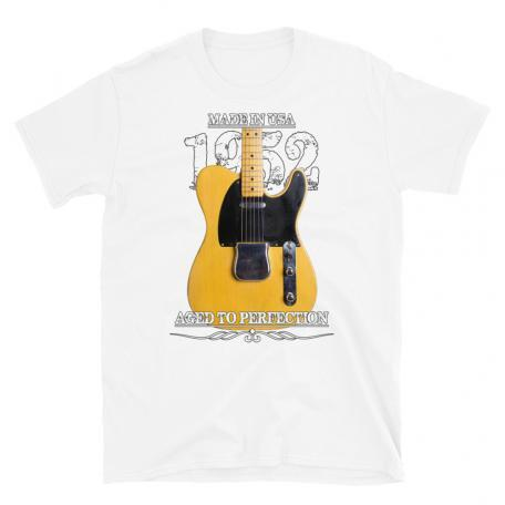 Classic 52 Telecaster Aged To Perfection T-shirt-white