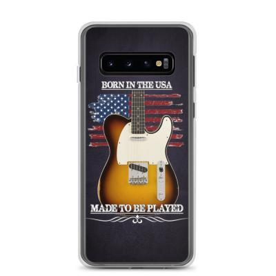 Born In The USA, Made To Be Played Telecaster Samsung Case