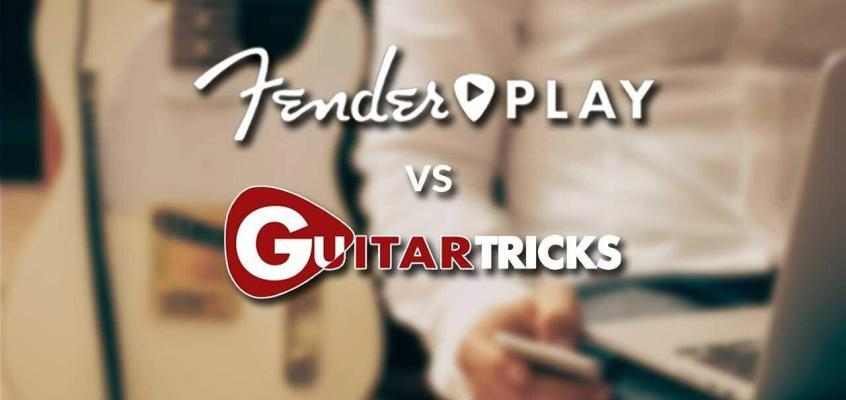 Fender Play vs Guitar Tricks