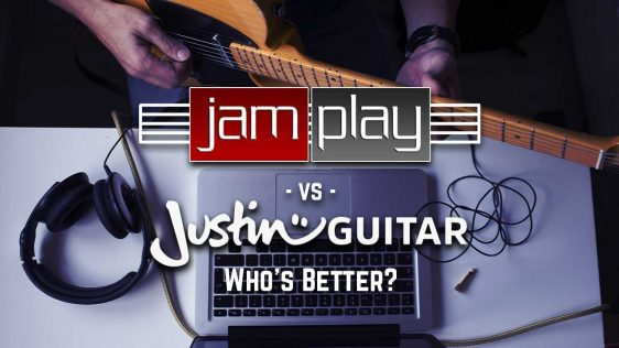 JamPlay vs Justin Guitar