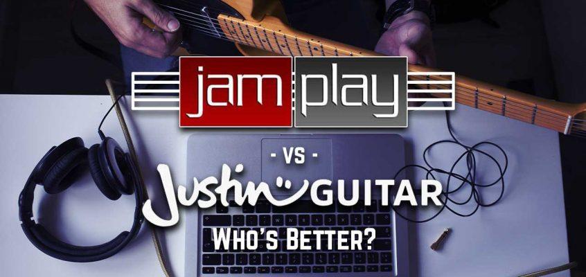 JamPlay vs Justin Guitar