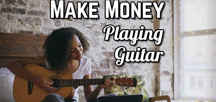 Make Money Playing Guitar Virtually