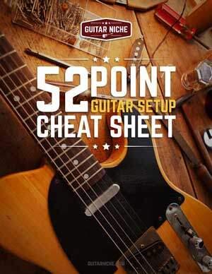 52 Point Guitar Setup Cheat Sheet