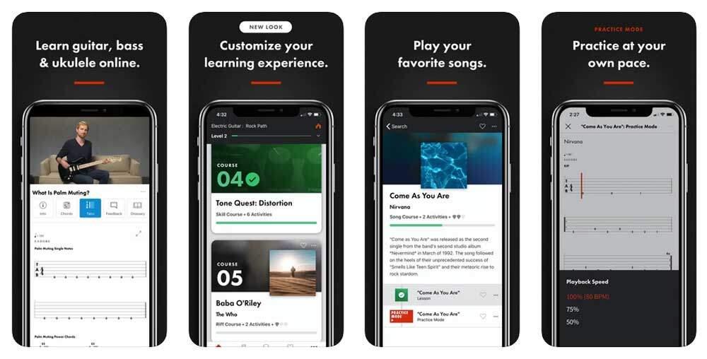 Fender Play App iphone