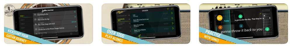 Justin Guitar iphone app
