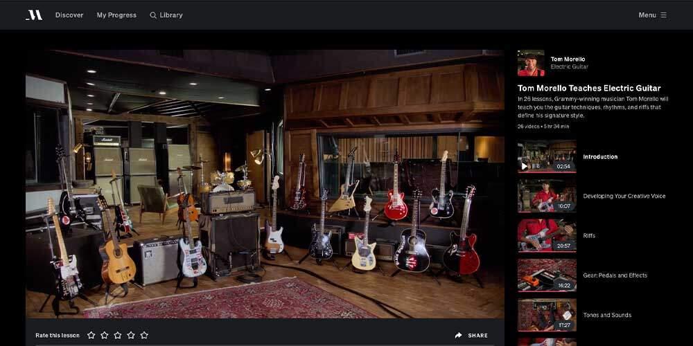MasterClass Guitar Review - Tom Morello