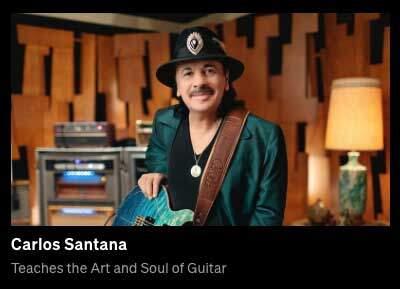 Santana - MasterClass Guitar Course-panel