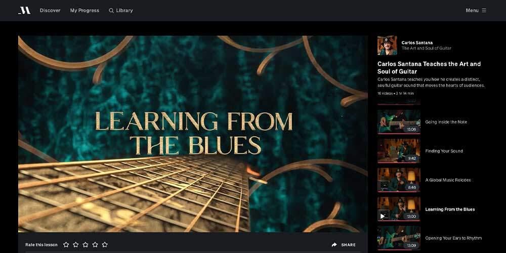 Santana MasterClass Review - Blues