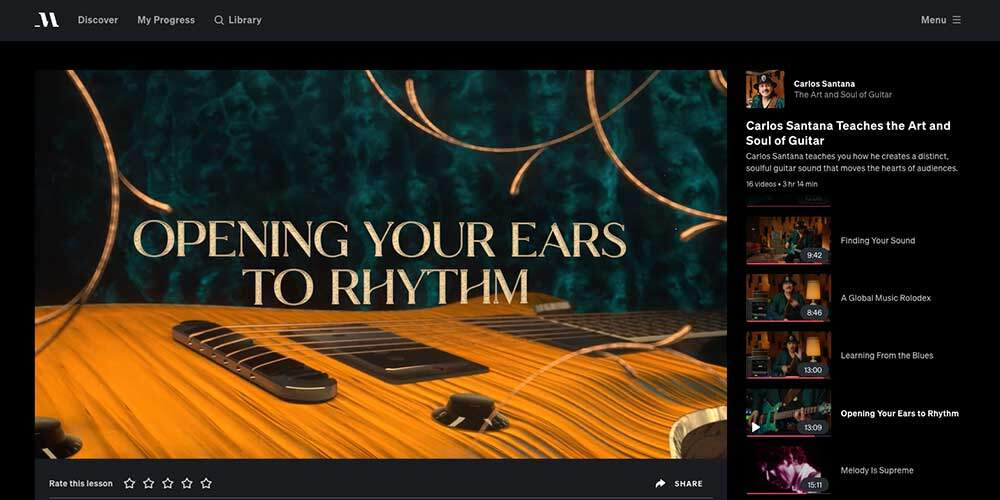 Santana MasterClass Review - Rhythm