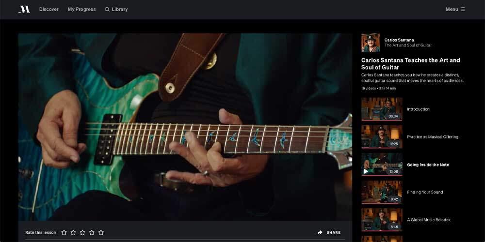 Santana MasterClass Review - Vibrato