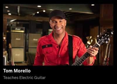 Tom Morello - MasterClass Guitar Course-panel