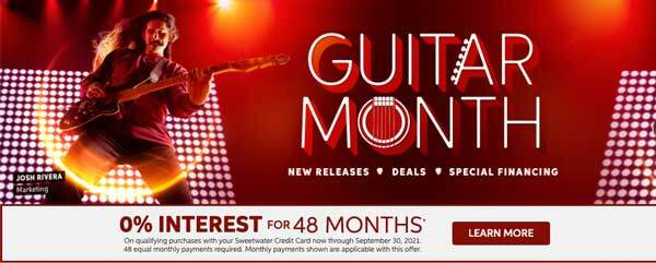 Sweetwater Guitar Month